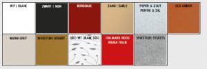 kleuren keramiek
